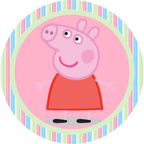 printable images of peppa pig peppa pig free printable toppers and candy bar labels