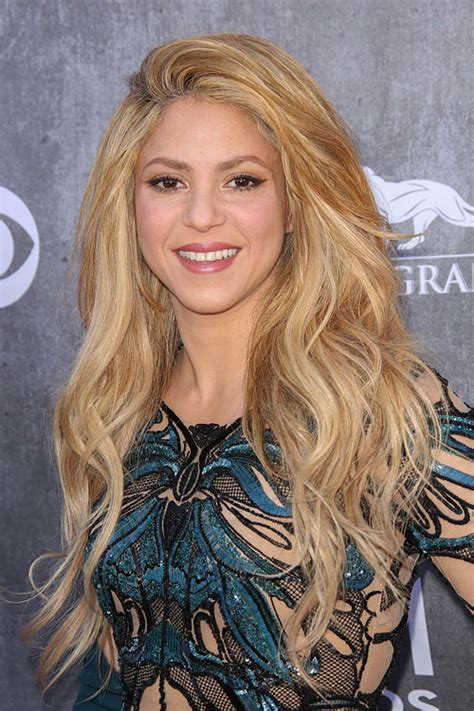 What Color Is Shakira Hair 2014 | shakira s hairstyles hair colors steal her style page 2