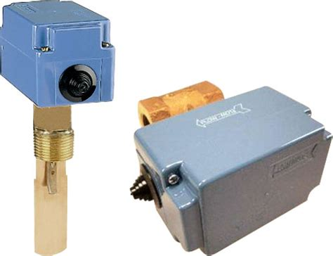 Flow Switch Johnson liquid flow switches f61 series f61sb 9100 f61tb 9100