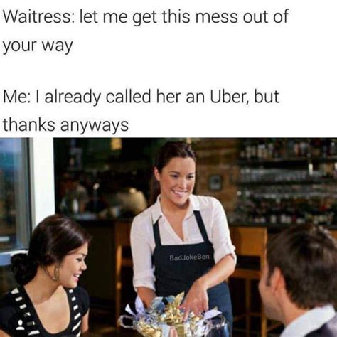 Waitress Memes - 12 funny friday memes to kill time before the weekend it