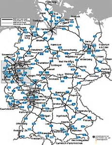 Road Map Of Germany by Germany Road Map