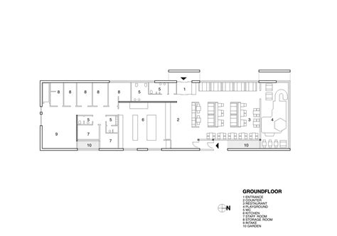 fast food restaurant floor plan fast food restaurant kfc pk arkitektar archdaily