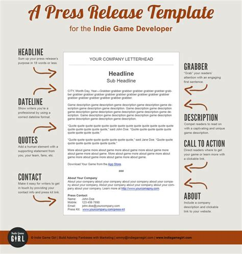 pr templates 25 unique press release ideas on