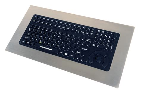 rugged keyboards rugged panelmount keyboard for industrial applications 5000 pm fsr