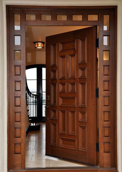 tipos de puertas de madera interior puertas de madera modernas de interior y exterior grup orell