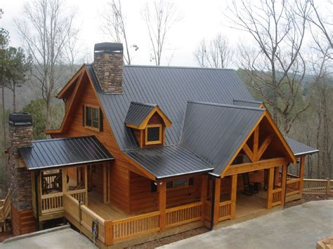 Log Cabins And Cottages With Tubs by No One Above