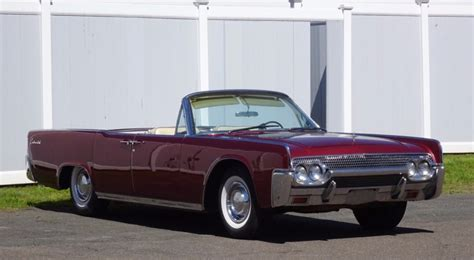 1961 lincoln convertible for sale no reserve factory a c 1961 lincoln continental