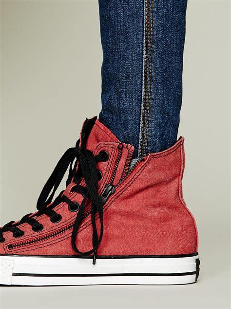 Sepatu Converse All Chili Zip High converse zip hi top chucks in lyst