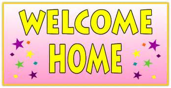 welcome home signs welcome home banner 110 images frompo
