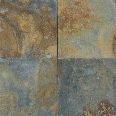 china multi color forest slate tiles gauged 24x24 10