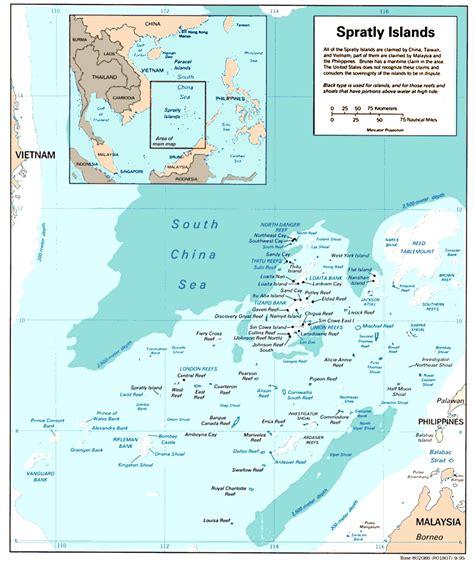 spratly islands map spratly islands
