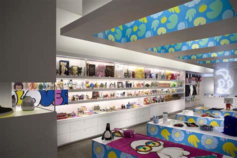 home design store warehouse miami fl kid robot store by mash studios miami 187 retail design blog
