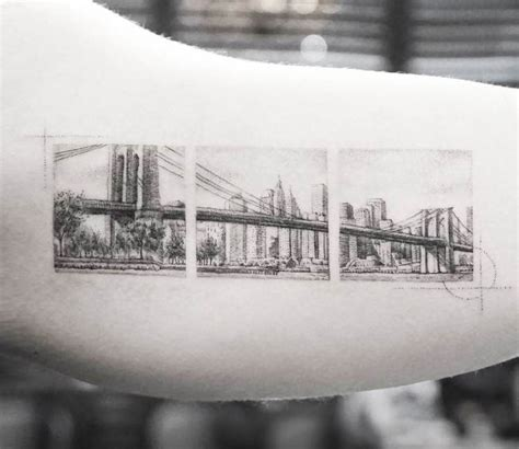 brooklyn bridge tattoo bridge by mr k post 17730