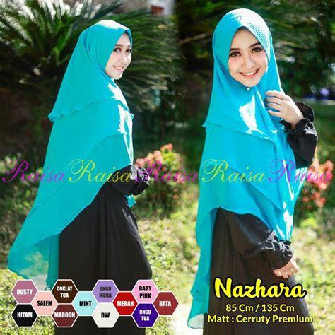 Khimar Raisa khimar nazhara by raisa sentral grosir jilbab kerudung i supplier jilbab i retail grosir