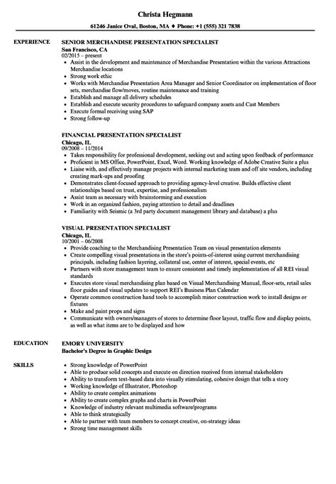 Powerpoint Presentation Specialist Sle Resume by Powerpoint Specialist Sle Resume Teaching Cover Letter Exle