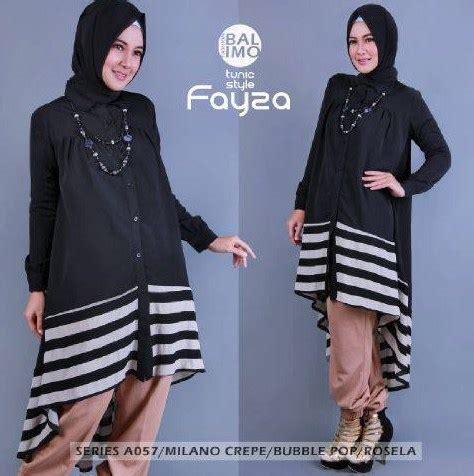 Pakaian Gamis Trendy muslimah fashion koleksi baju muslim modern trendy mulai