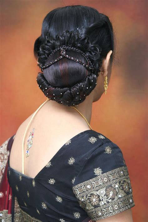 List Of Different Types Of Hair Buns by This Indian Wedding Hairstyles List Is Designed