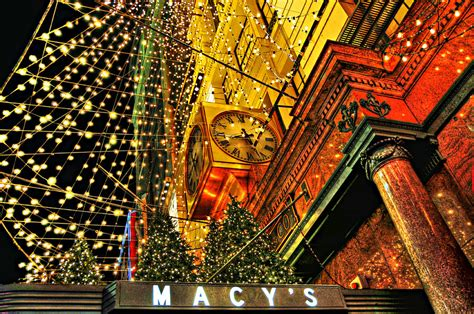 Add Money To Macy S Gift Card - macy s christmas lights by randy aveille