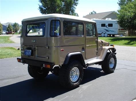 1970 toyota land 1970 toyota land cruiser fj 40 custom suv 177209