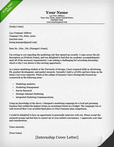 Resume With Cover Letter by Cover Letter Internship Sle Ingyenoltoztetosjatekok