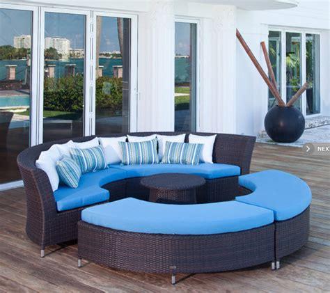 modern outdoor furniture san diego san diego modular outdoor circle sofa set contemporary