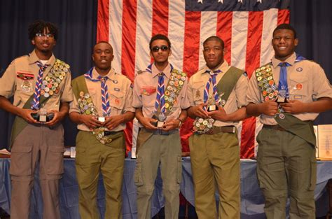 Five Black Eagle Scouts Join The 1 Percenters News Eagle Scout