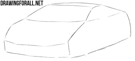 how to draw a jaguar car drawingforall net how to draw a sports car step by step drawingforall net