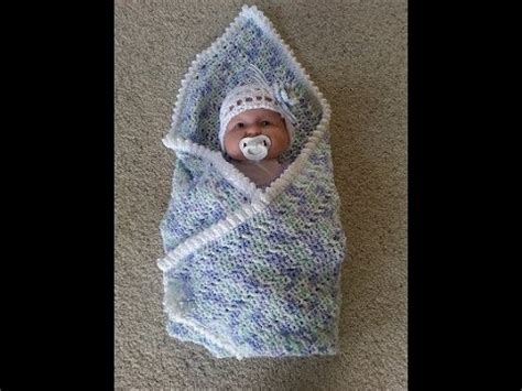 youtube tutorial crochet baby blanket crochet easy baby blanket with matching headband diy