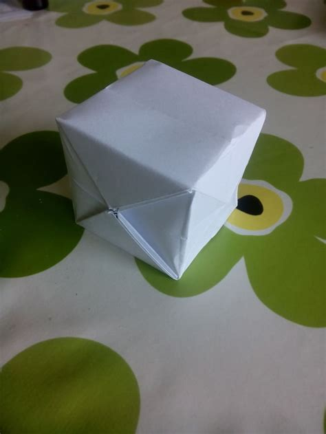 Make A Cube Out Of Paper - 3 ways to make a paper cube wikihow