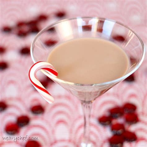 candy cane martini chocolate candy cane martini the weary chef