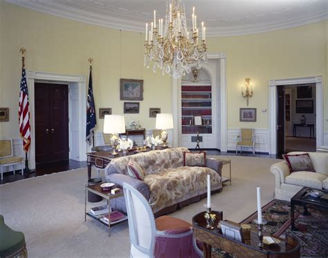 yellow oval office white house rooms state dining room cross hall east