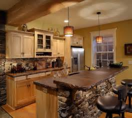 Kitchen Countertop And Backsplash Ideas by Outstanding Rustic Kitchen Island Table With Natural Stone