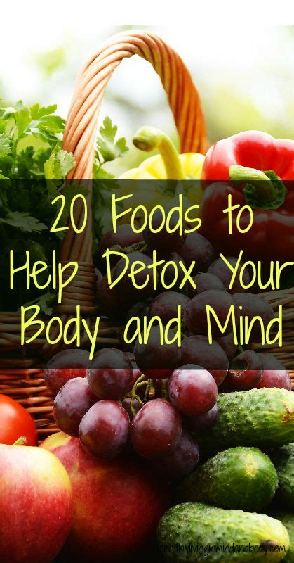 Jakes Detox Water by 20 Foods To Detox Your And Mind Healthy Living