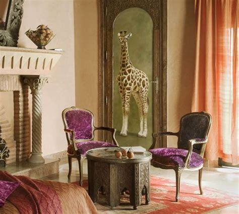 Moroccan Style Living Room Decor by