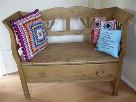 Kitchen Bench With Cushion The Craft Attic April 2011