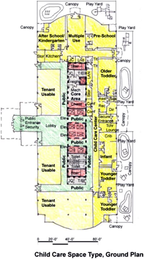Toddler Room Floor Plan by Child Care Wbdg Whole Building Design Guide
