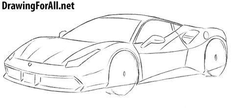 how to draw a car how to draw a drawingforall net
