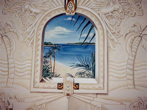 custom murals trompe l oeil murals murals by marie