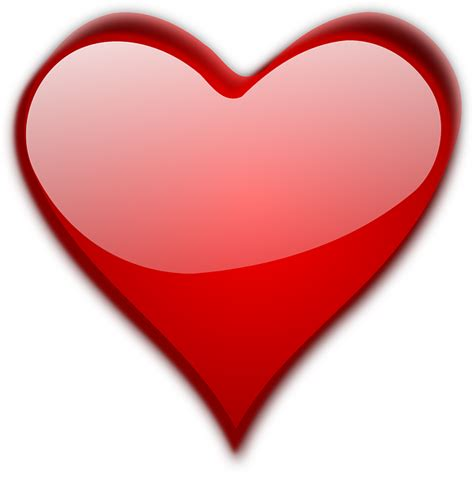 cuore clipart cuore san valentino 183 grafica vettoriale gratuita su