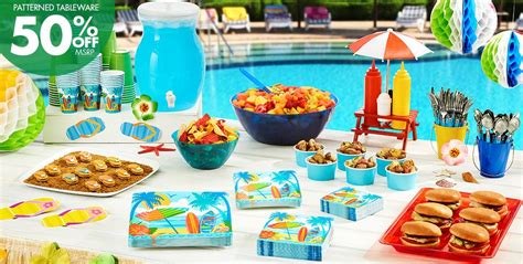beach themed party kit beach party theme beach themed party supplies party city