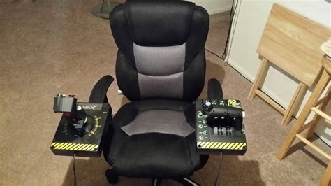 3 Monitor Chair by X 55 Compatible Hotas Desk Chair Mounts Starcitizen