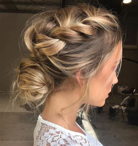 braided hairstyles party 25 best ideas about bridesmaid hair on pinterest