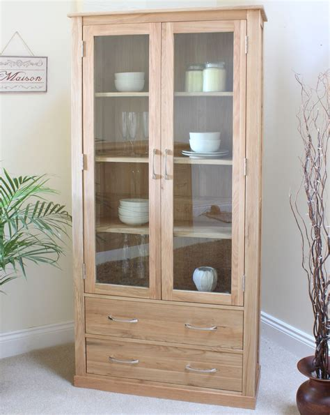 dining room display cabinet conran solid oak furniture display cabinet glazed dining