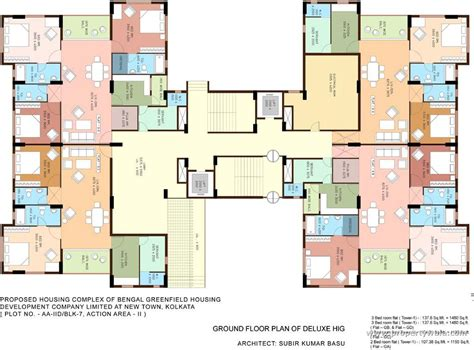 home plan design in kolkata bengal greenfield ambition new town rajarhat kolkata apartment flat project