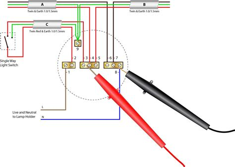 lighting circuit wiring diagram wiring two lights to one