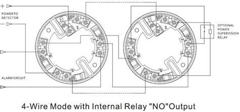 conventional smoke detector wiring diagram relay output 4 wire conventional smoke detector buy