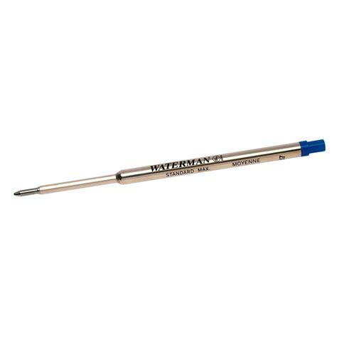 Im Bp Graffir Reffil Bp waterman ballpoint pen refill medium blue officeworks