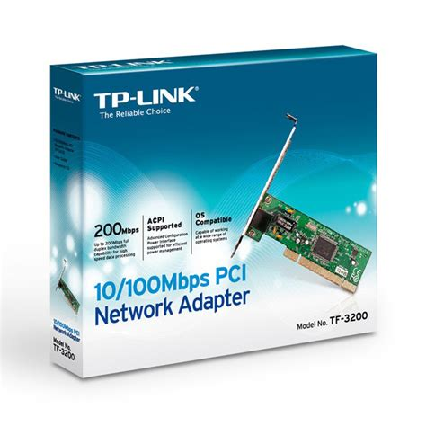 Pci Network Adapter Tp Link Tf 3200 10 100mbps tp link pci network adapter 10 100mbps tf 3200 jakartanotebook