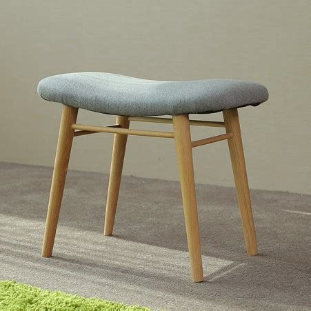 Large Soft Stools by Japanese Solid Wood Stool Nordic Modern Simple Household Stool Oak Soft Makeup Stool In Stools
