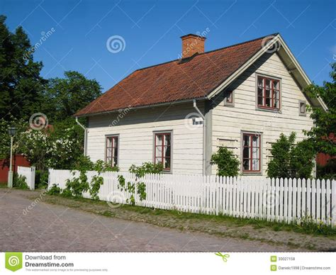traditional swedish house plans old traditional swedish house linkoping sweden stock photo image 33027158